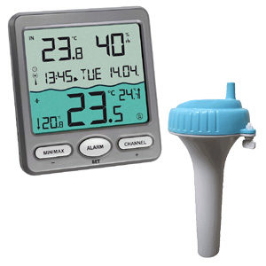 Thermomètre de piscine exemple