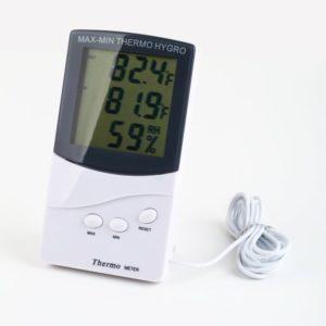Thermomètre intérieur avec sonde extérieure